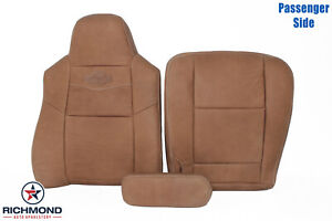 2004 2005 Ford F250 F350 King Ranch Passenger Side Complete Leather Seat Covers