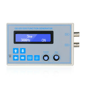 Dds Function Signal Generator Sine Square Low Frequency Lcd Usb Cable U0n6