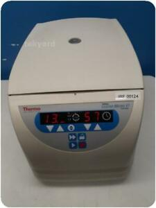 Thermo Fisher Scientific Sorvall Legend Micro 17 Centrifuge W Rotor 254293