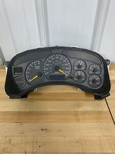 1999 02 Oem Gm Full Size Truck Suv Gauge Cluster 09362995 Tested Ships Free