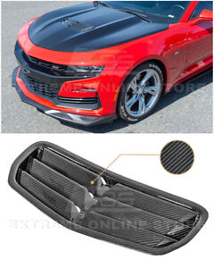 For 19 up Camaro Ss Lt1 Gm Factory Style Carbon Fiber Hood Vent Louver Cover
