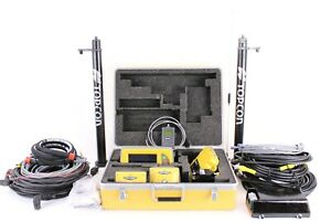 Topcon 3d mc Full Excavator Gps Kit W Mc i3 Control Box Gx 60 Display