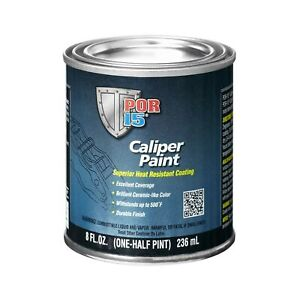 Yellow Caliper Paint Superior Heat Resistant Coating Durable Finish 8 Fl Oz