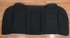 2009 2010 Dodge Charger Oem Rear Seat Upper Upholstery dark Slate Cloth