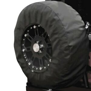 For Jeep Wrangler Jk 18 33 35 Black Diamond Spare Tire Cover W 17 Window
