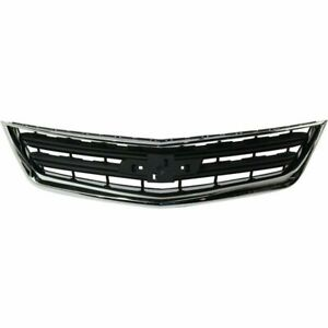 Gm1200684n New Replacement Front Upper Grille Fits 2014 2019 Chevrolet Impala Ls