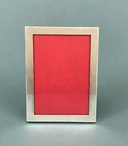 Antique Art Deco Sterling Silver Picture Photo Frame American Lebkuecher Co 3x5