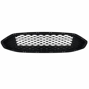 For Ford Fusion 2017 2018 Gloss Black Front Bumper Honeycomb Mesh Grill