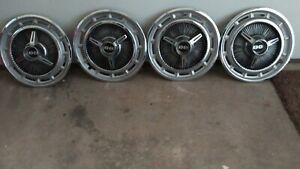 1965 Chevrolet Impala Ss Spinner Hubcaps Chevy Ii Wheel Covers 1966 1967 Nova 64