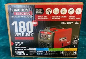 Lincoln Electric Mig Wire Welder Feeder Weld Pak 180 Hd Auto Farm K2515 1