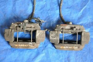 2005 Mercedes Benz S500 W220 28 Front Left Right Brake Calipers Set Of 2 Oem