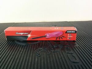 ai287 New Snap On Pink Ratcheting Screwdriver With 5 Bits Ssdmr4bbca