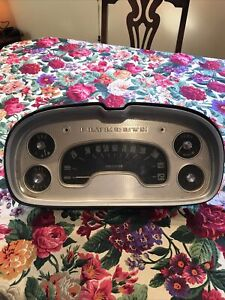 Original Vintage 1957 Plymouth Speedometer Outer Molding