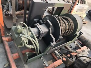 Dp Hydraulic Winch Military 60 000 Lb Planetary