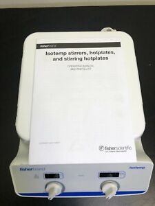Fisherbrand Isotemp Hot Plate Magnetic Stirrer 10 x10 Sp88850200 Fisher