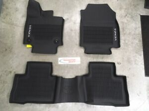 2021 Venza All Weather Floor Liners Genuine Toyota Accessory