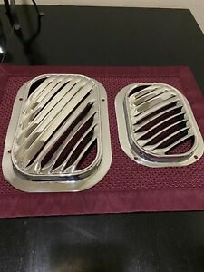 Chevy Gmc Truck Fresh Air Vents 1955 1956 1957 1958 1959 Show Chrome Cameo