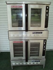 Blodgett Dfg 100 Dual Flow Gas Double Bakery Commercial Oven Bakery Pizza