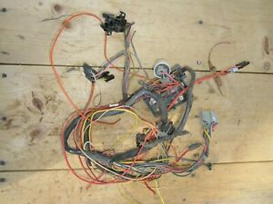 1965 Plymouth Valiant Fuse Box Wiring Harness Dash Switch Connectors