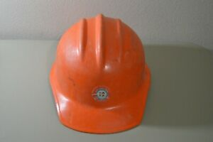 Vintage Hard Boiled E D Bullard Co Hard Hat Los Angeles Local 12 Union Engineers