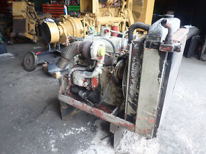 Detroit Diesel 3 53t Turbo Engine Runs Exc Silver Video 353 3 53 Gm