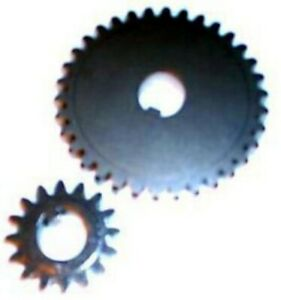 Accura Low Speed Reduction Stock power Feeder Gear Set For 1 4 Hp Power Feeders