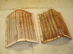1959 Case 611b Tractor Front Grill Screens