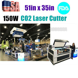 Usa 51in X 35in 150w Co2 Laser Cutter Fda Certificate With Auto Focus Function