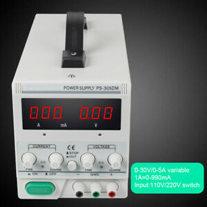Adjustable Variable Linear Dc Power Supply 110v 220v Switching For Lab Equipment