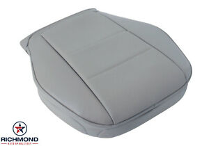 2008 2014 Mercedes Benz C Class Driver Side Bottom Leather Seat Cover Gray