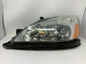 2003 2004 2005 2006 2007 Honda Accord Coupe Oem Lh Driver s Side Headlight