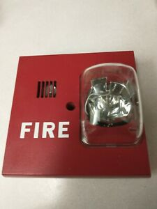 Faraday Fire Alarm Horn Strobe Model 2884 W Mount Multi Candela Siemens 544803