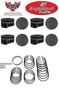 8 Enginetech Gm Chevrolet Gm Geniii 6 0 Lq9 Ls2 G8 New Pistons And Rings