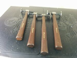 Ai192 Never Used Snap On Set Of 4 Body Hammers