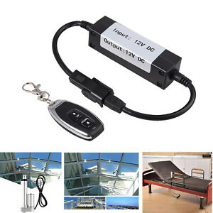 Motor Linear Actuator Wireless Remote Control Switch Forward Reverse Up To 100m