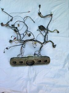 1966 Ford Mustang Dash Wiring Harness With Cluster Complete