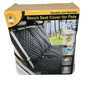 Dog Seat Cover Bench Car Seat Cover Protector Waterproof For Cars Trucks Suvs