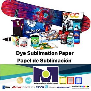100 Sh 8 5x11 Dye Sublimation Heat Transfer Paper For Polyester T Shirts Mugs