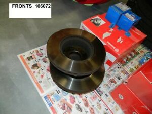 1985 Ferrari 308gtb Front And Rear Brake Rotors 4 Used