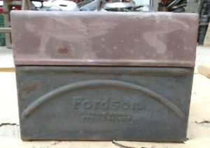 1920 S Fordson Tractor Coil Box W Lid Original