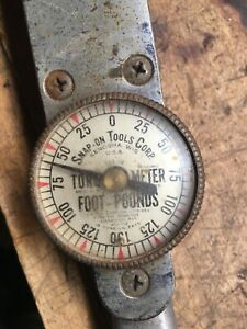 Snap On Torque O Meter Tq 150 0 150 Ft Lbs Torque Wrench