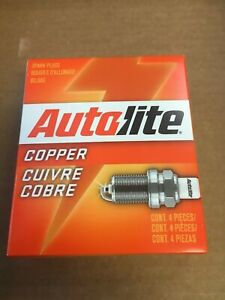 Ford Tractor 8n Naa 600 601 800 801 900 2000 4000 Autolite 437 Spark Plugs 4 Pac