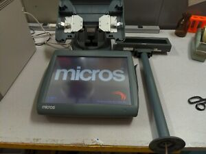 Micros Workstation 5a Pos Touchscreen Terminal Stand