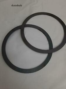Total Source Parts Accessories Set Of 2 Stainless Steel Washer Shims