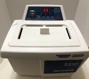 Bransonic 2510r dth Powerful Ultrasonic Cleaner Water Bath Tested Excellent Cosm