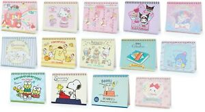 2021 Sanrio Desk Top Ring Calendar Hello Kitty Gudetama My Melody Etc 14 Types
