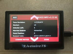 Sct Livewire Ts Programmer For Ford Powerstroke Engines 5015p