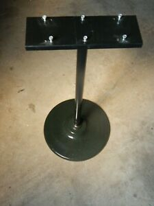 Used Bulk Vending Machine Pipe Stand W Double Bracket