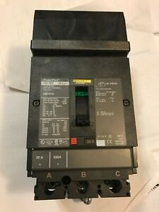 New No Box Square D Hda36020 20a 600v 3p Powerpact Circuit Breaker Best Price