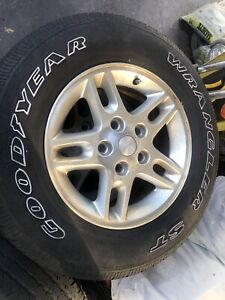 2003 Jeep Grand Cherokee Wheels And Tires